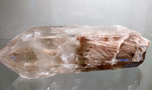 Amphibole Quartz Point - Ruby Dragon