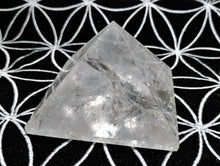 Clear Quartz Pyramid - Ruby Dragon
