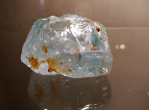 Blue Topaz Free Form - Ruby Dragon