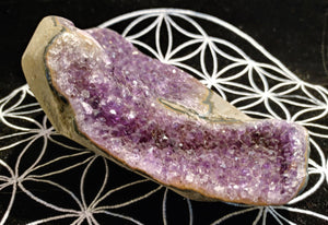 Amethyst Geode - Ruby Dragon