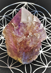 Ametrine Standing Point - Ruby Dragon