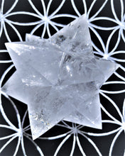 Clear Quartz Crystal Star - Ruby Dragon