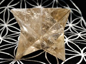 Smoky Quartz Merkaba - Ruby Dragon