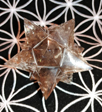 Smoky Quartz Crystal Star - Ruby Dragon