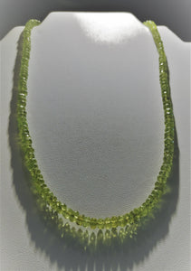 Peridot Necklace - Ruby Dragon