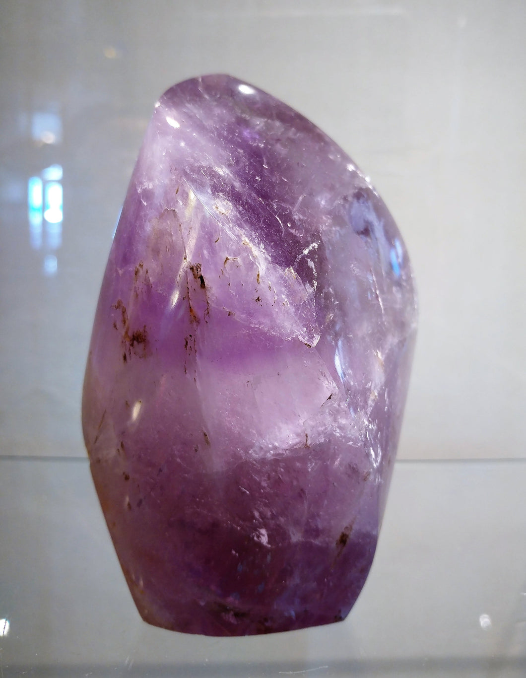 Amethyst Flame Standing Point - Ruby Dragon