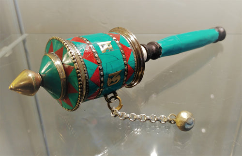 Prayer Wheel - Ruby Dragon