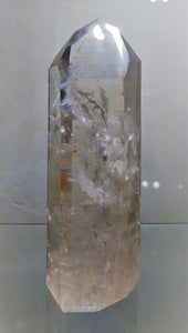 Lemurian Quartz Standing Point - Ruby Dragon