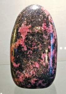 Rhodonite Free Form - Ruby Dragon