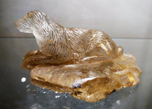 Rutilated Quartz Puppy Dog - Ruby Dragon