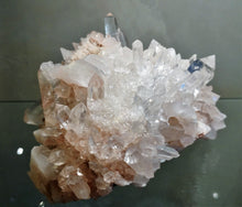 Samadhi Quartz Cluster - Ruby Dragon
