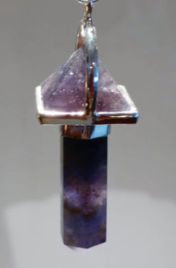 Pendulum ~ Amethyst - Ruby Dragon