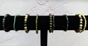 Bracelet Bar ~ Green - Ruby Dragon