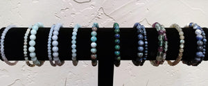 Bracelet Bar ~ Blue & Aqua - Ruby Dragon