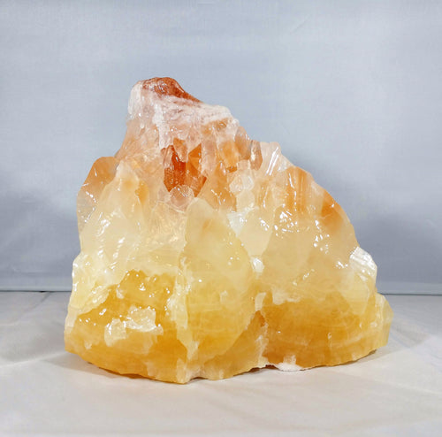 Calcite Free Form ~ Peach & Yellow - Ruby Dragon