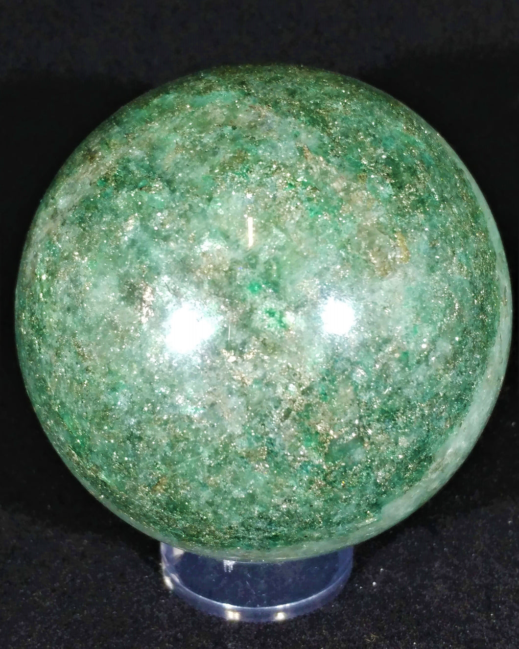 Fuchsite Sphere - Ruby Dragon