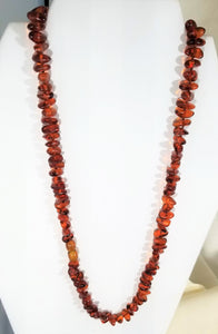 Baltic Amber Necklace - Ruby Dragon