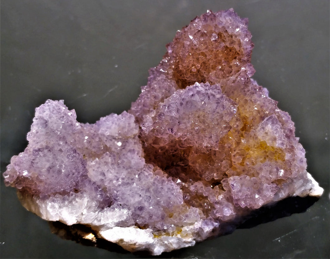Amethyst Spirit Quartz Cluster - Ruby Dragon