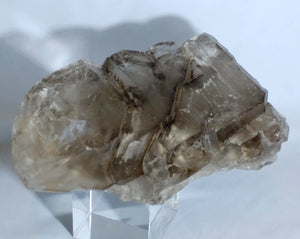 Elestial Quartz Free Form - Ruby Dragon
