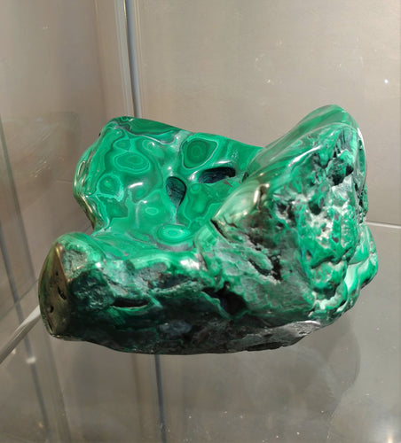Malachite Free Form #22 - Ruby Dragon