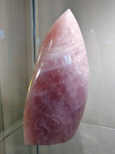 Rose Quartz Flame #31 - Ruby Dragon