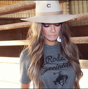 Rodeo Socialite Tee-Pradera - purveyors of the west