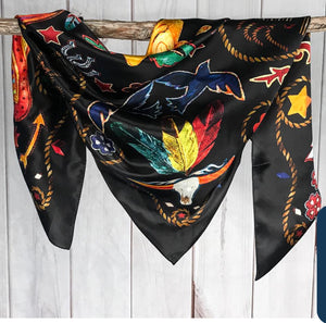 Black Boots Shorty Scarf-Pradera - purveyors of the west