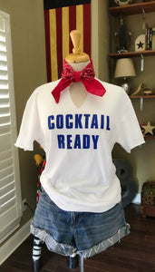 Cocktail Ready tee-Pradera - purveyors of the west