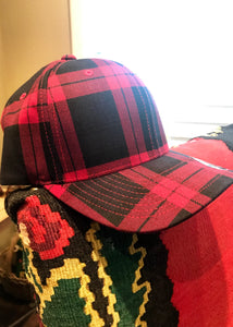 Red Plaid Cap-Pradera - purveyors of the west