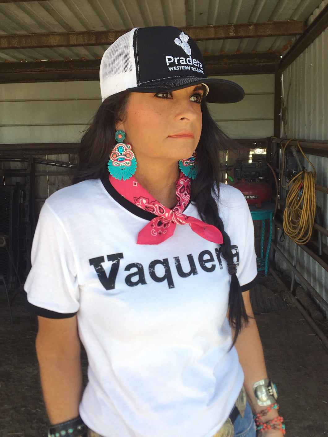 Vaquera tee-Pradera - purveyors of the west