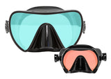 SeaLite-HD Frameles Tinted Lens Scuba Masks