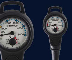 Sherwood Pressure Gauge Assembly - Scuba Dive It Gear