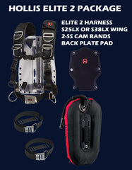 Hollis Elite 2 Package - Scuba Dive It Gear