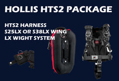 Hollis HTS 2 BCD Package System - Scuba Dive It Gear