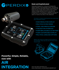 Shearwater Perdix AI - Scuba Dive It Gear