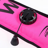 Diving DIVING SMB 1.2m 1.5m 1.8m Colorful Visibility Safety Inflatable Scuba Diving SMB Surface Signal Marker Buoy Accessory