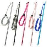 Rope Lanyard Rod Diving Stick Shaker Aluminium Alloy Tank Banger Pointer Noise Maker Scuba Practical Underwater Accessories W1