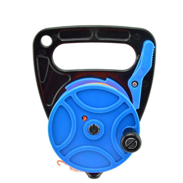 Spool Reel Nylon Scuba Diving Portable Snorkeling Outdoor Lightweight Dive Compact With Thumb Stopper Accessories Safe Equipment