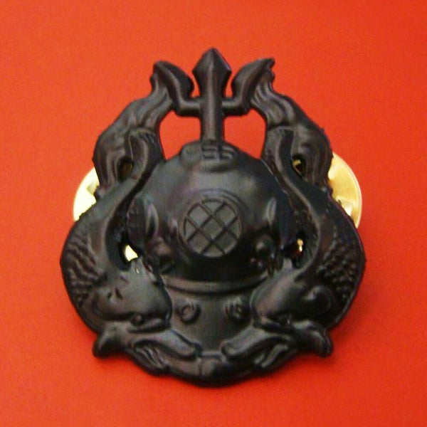 US Army Master Diver Badge Insignia Scuba Diving Operations Pin Cockade Black