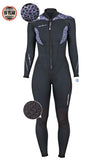 TherMAXX Women's 1.5mm Front Zip Full Suite