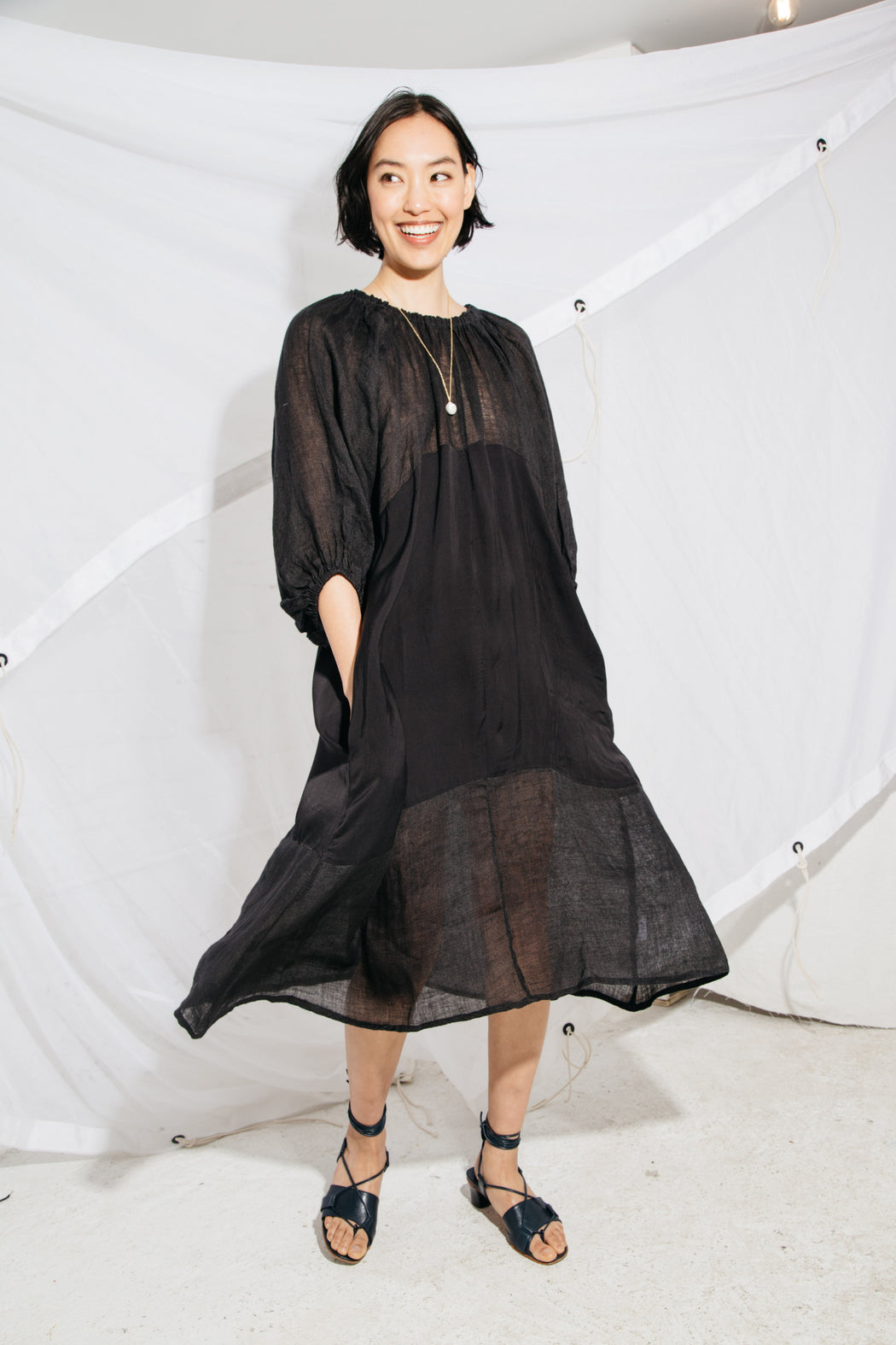 BALLAD DRESS - BLACK