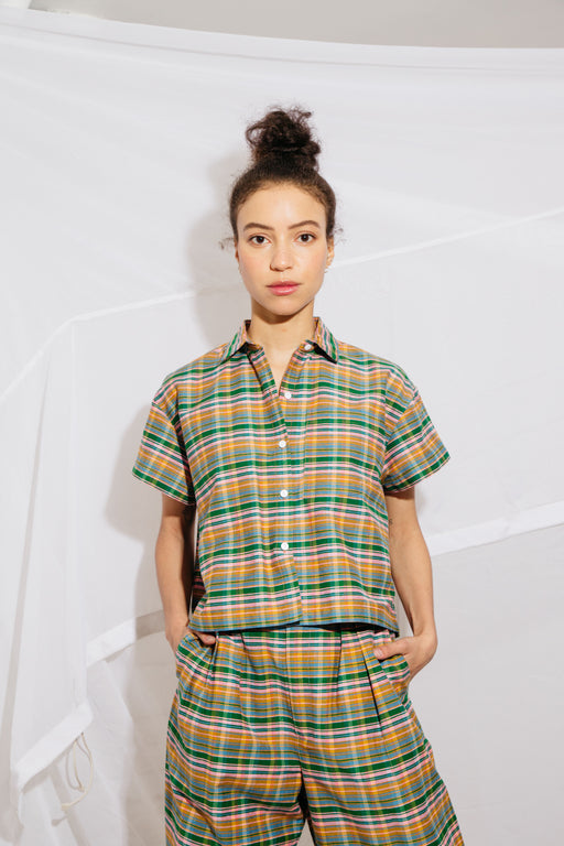 CORSO BUTTONDOWN - CANDY PLAID