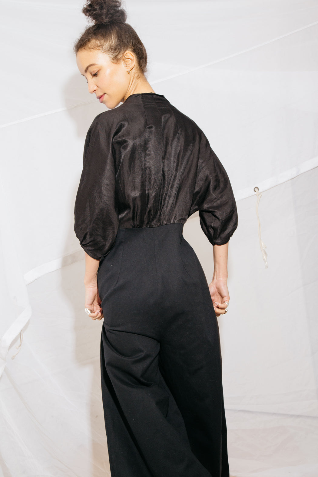 HEDDA JUMPSUIT - BLACK