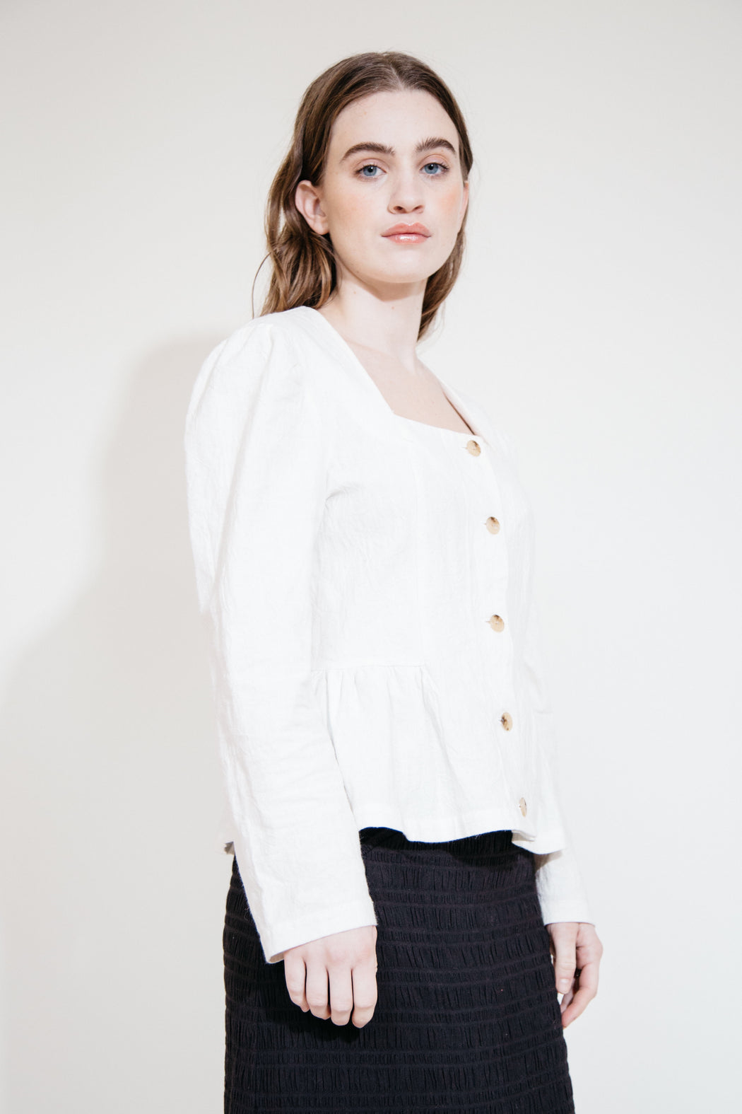 TEO TOP - WHITE