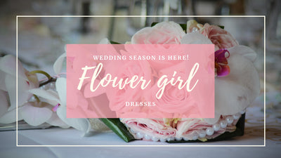 Wedding season is here! Time for flower girls to bloom
