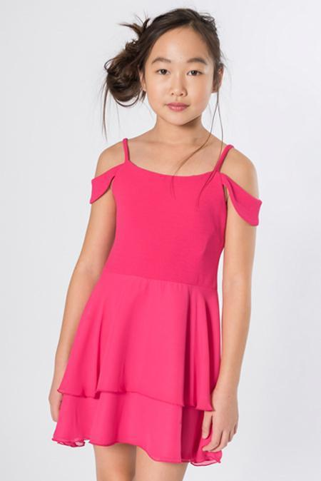 Sofie Pink-DRESS-Sizes 4-16-Zoë Ltd