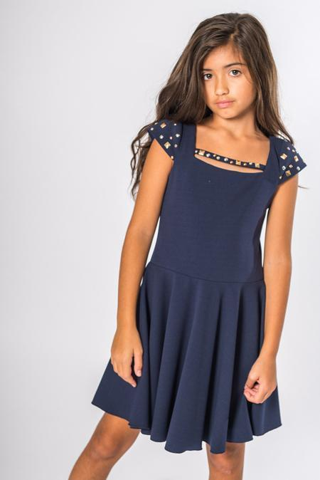 Riley Navy-DRESS-Sizes 4-16-Zoë Ltd
