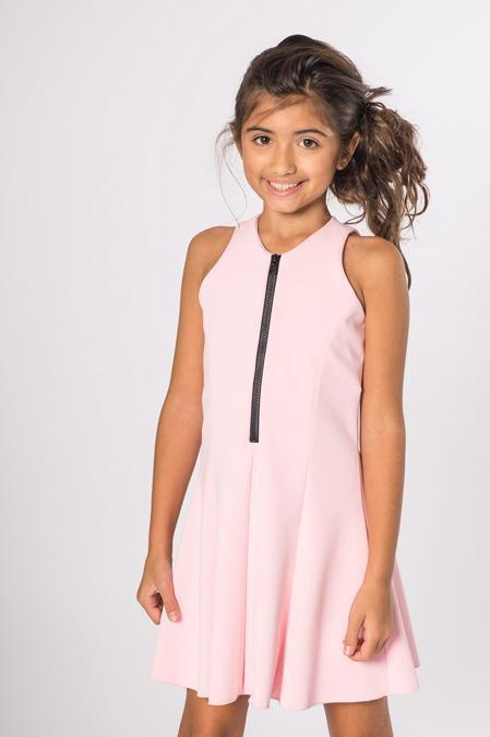 Cleo | Blush-DRESS-Sizes 4-16-Zoë Ltd