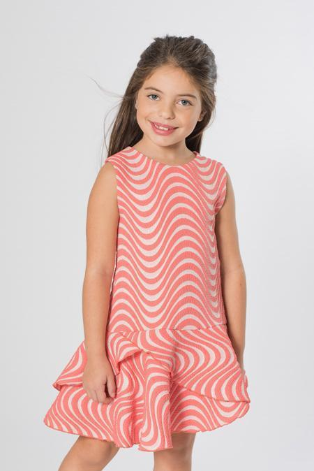 Coral Wave-DRESS-Sizes 4-16-Zoë Ltd