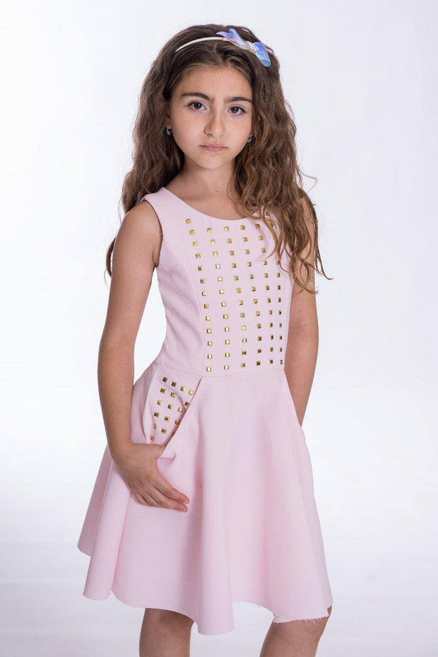 Rylee Sleeveless-DRESS-sizes 7-16-Zoë Ltd